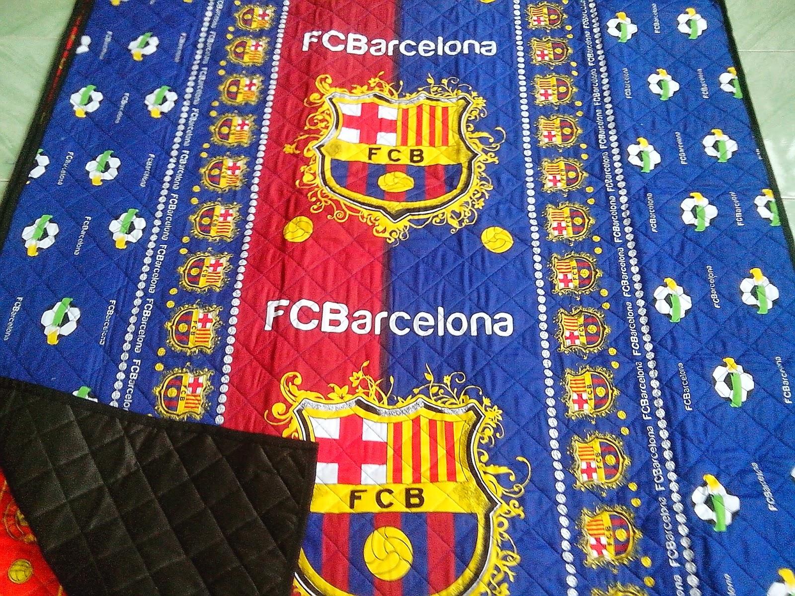 tikar dakron motif barcelona1