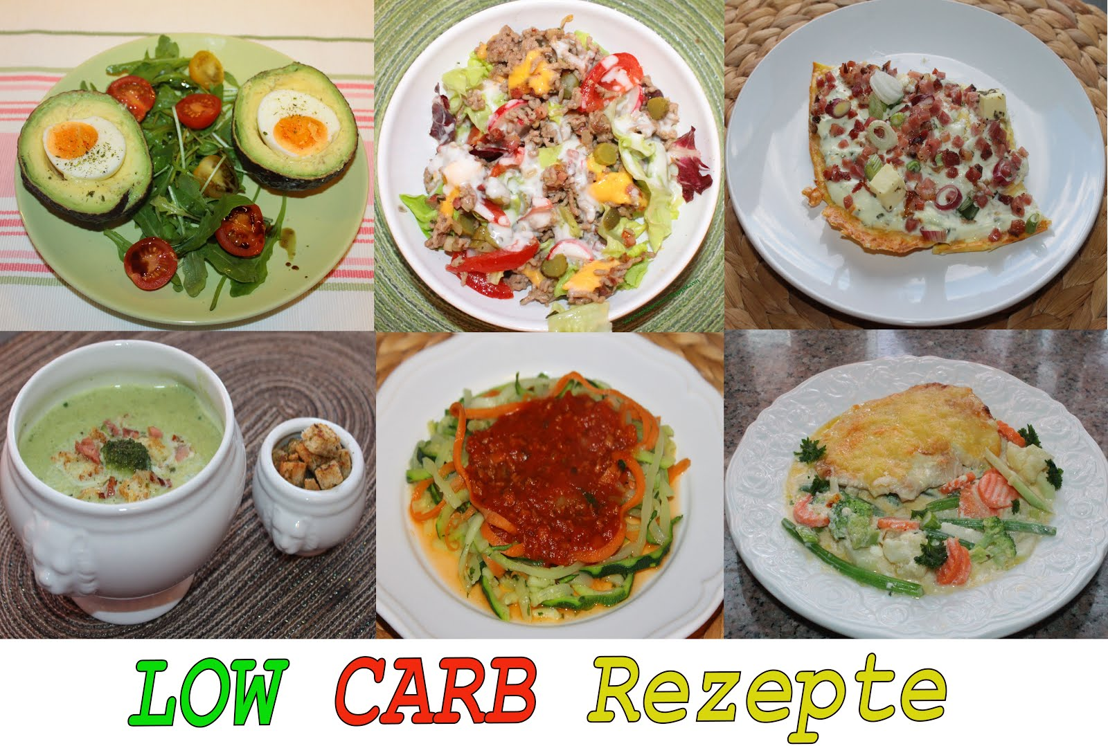 LOW CARB im Februar