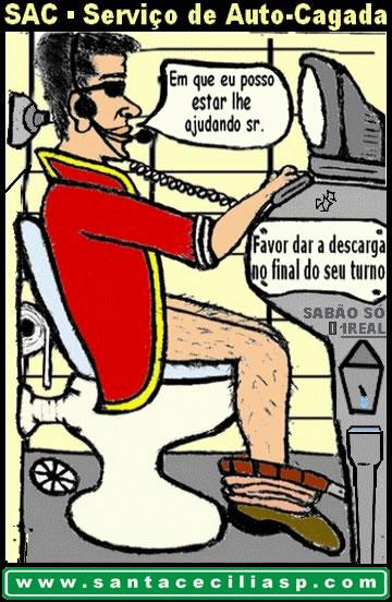 SAC (Serviço de Auto-Cagada) (tirinha)
