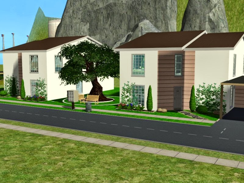 SIMplified: Sims 2 Haus - Simsstreet 3
