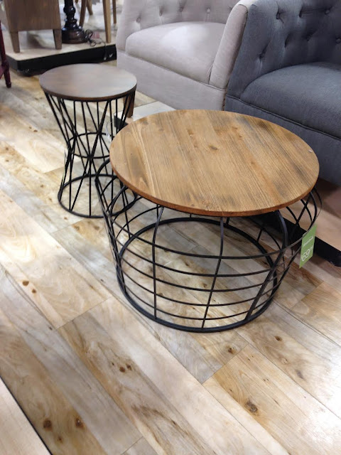 {Let's Go Shopping} HomeGoods Table