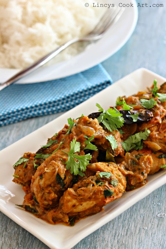 Chettinad Chicken Varuval