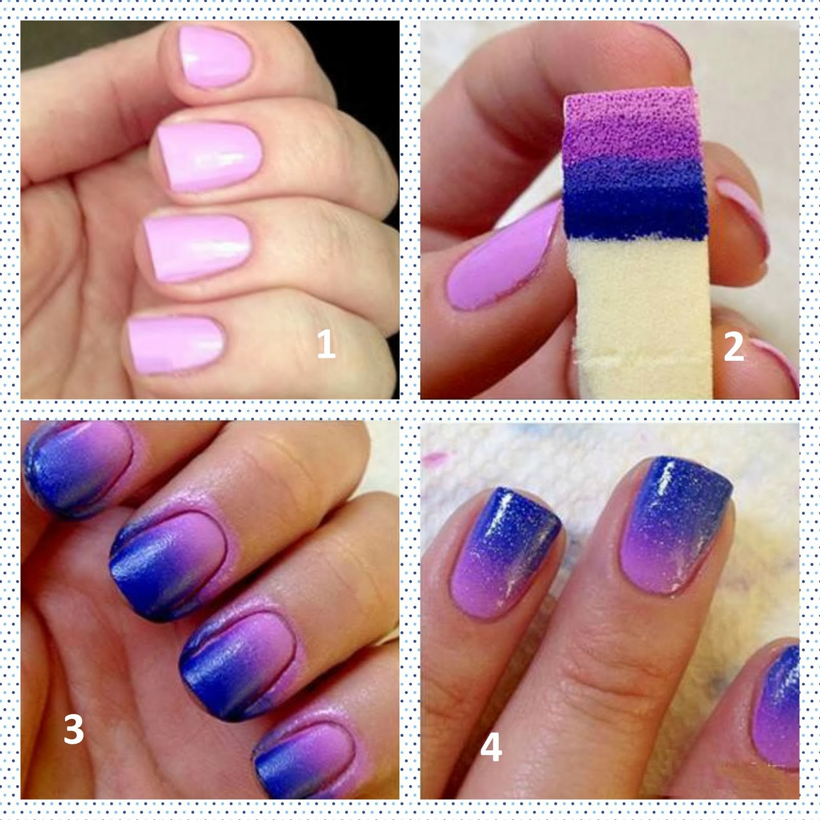Beautiful Easy Nail Designs At Home Step By Step Pictures ...