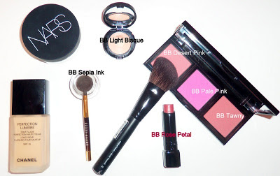 Bobbi Brown, Chanel, Nars, Make Up Forever, Sephora products
