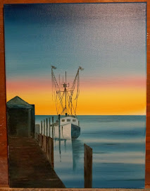 Oil on Canvas/Chincoteague Island, VA