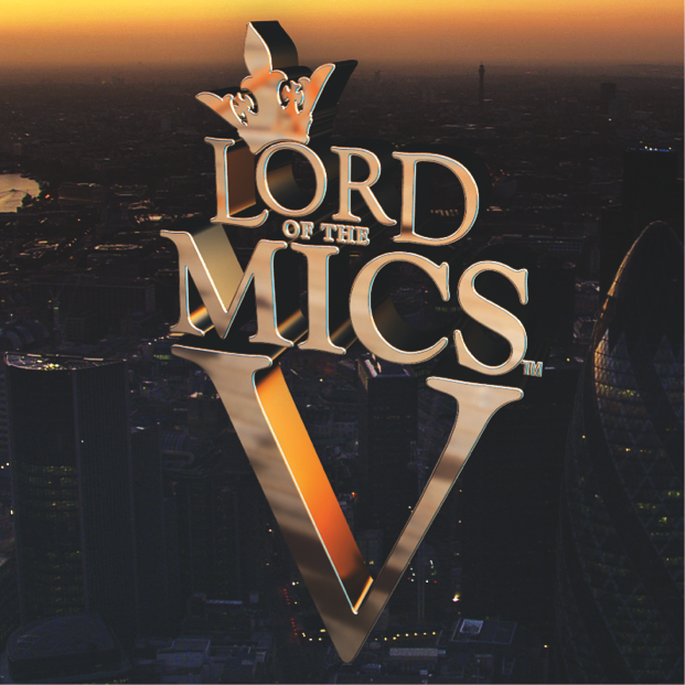 DVD series Lord of the Mics V returns December 2013