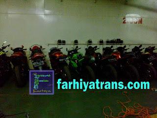 pengiriman sepeda motor dengan kapal roro