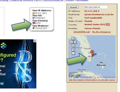 Verificar ubicacion con VPN USA Free