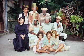 Turma do Sítio do Pica Pau Amarelo nos anos 70 - Rede Globo.