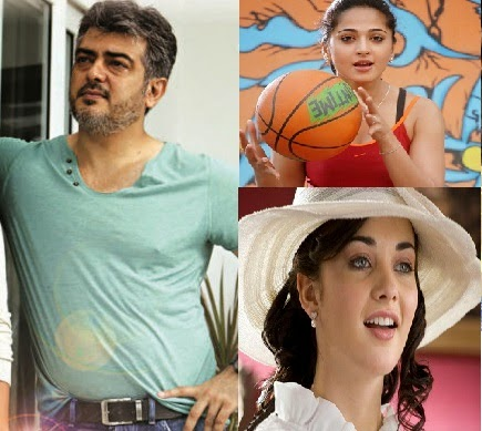 Ajith to romance Anushka and Amy Jackson