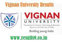 Vignan University B.Tech R09 IV Year Sem Supply Results 2013