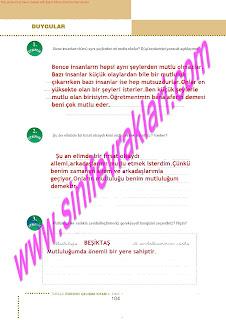 6.Sinif  Turkce Doku Yayinlari Ogrenci Calisma Kitabi Sayfa 104