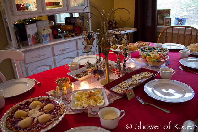 Catholic cuisine a twelve days of christmas dinner party forumfinder Image collections