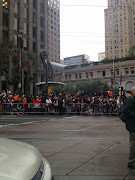 Today, the San Francisco Giants parade was held to celebrate their World .