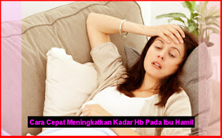 Tips Cepat Meningkatkan Kadar Hb Pada Ibu Hamil