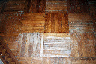 Parquet Floor Repair - NYC