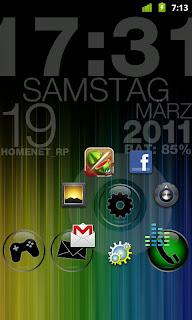 CircleLauncher 2.0.3 apk, Android Launcher App