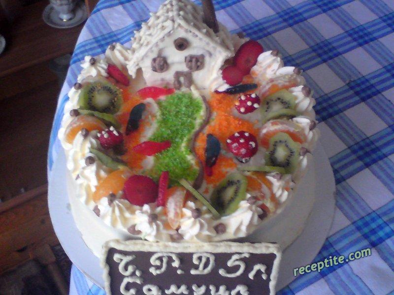 Торти на день народження фото рецепти