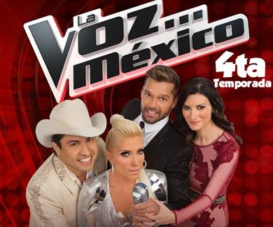 La Voz mexico cuarta temporada