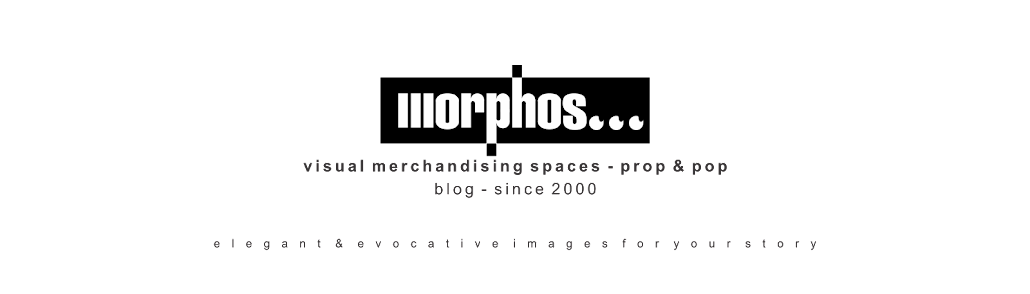 Morphos Visual Merchandising Spaces, Prop & Pop