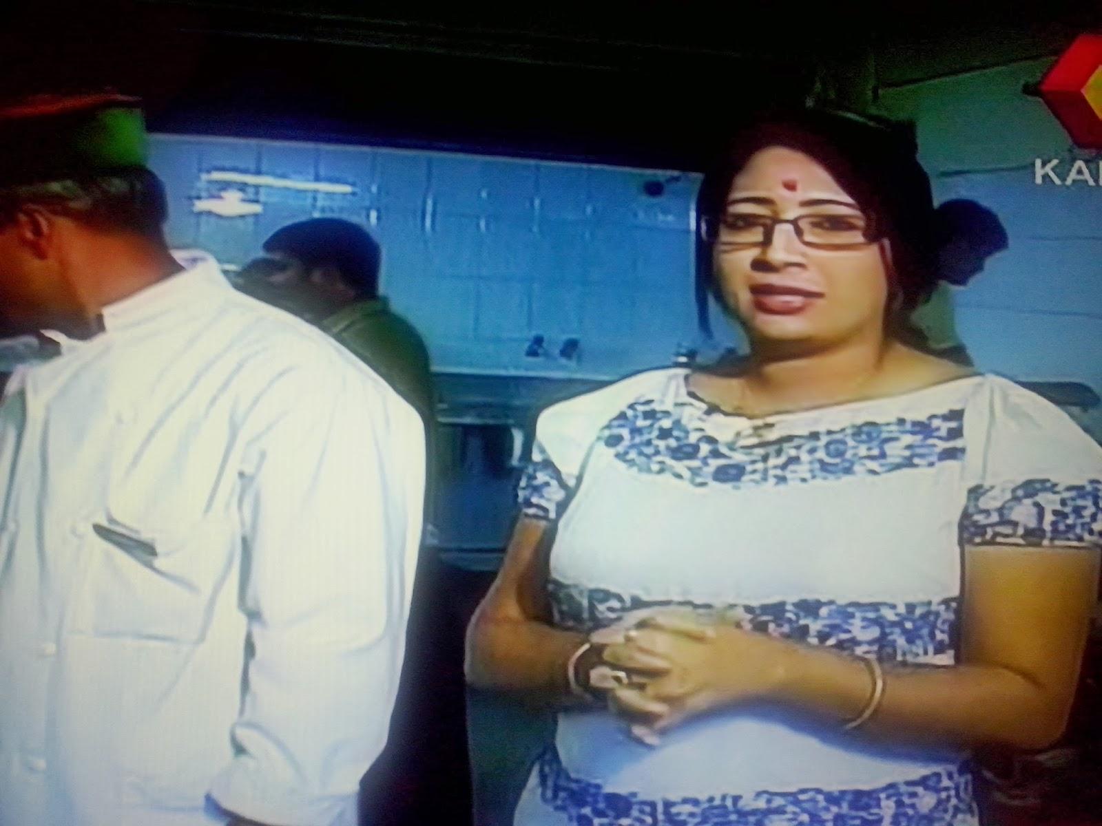 Malayalam Tv Anchor Dr Lakshmi Nair Hot Stills And
