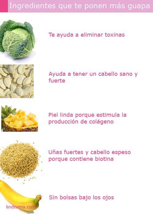 verduras frutas belleza