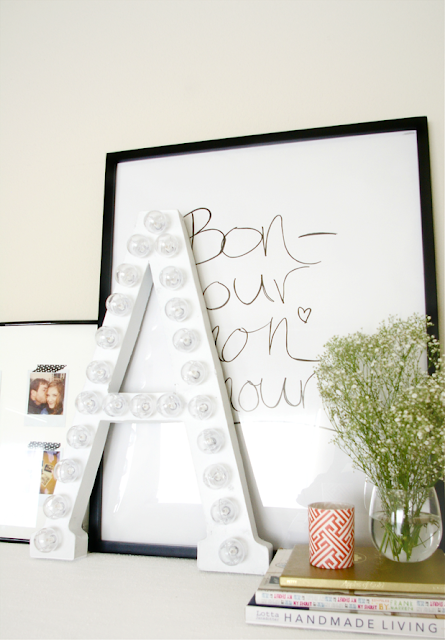 marquee2 New Years Eve DIY Inspiration | Grey Likes Nesting DIY Marquee Letters For Decor Or Party!