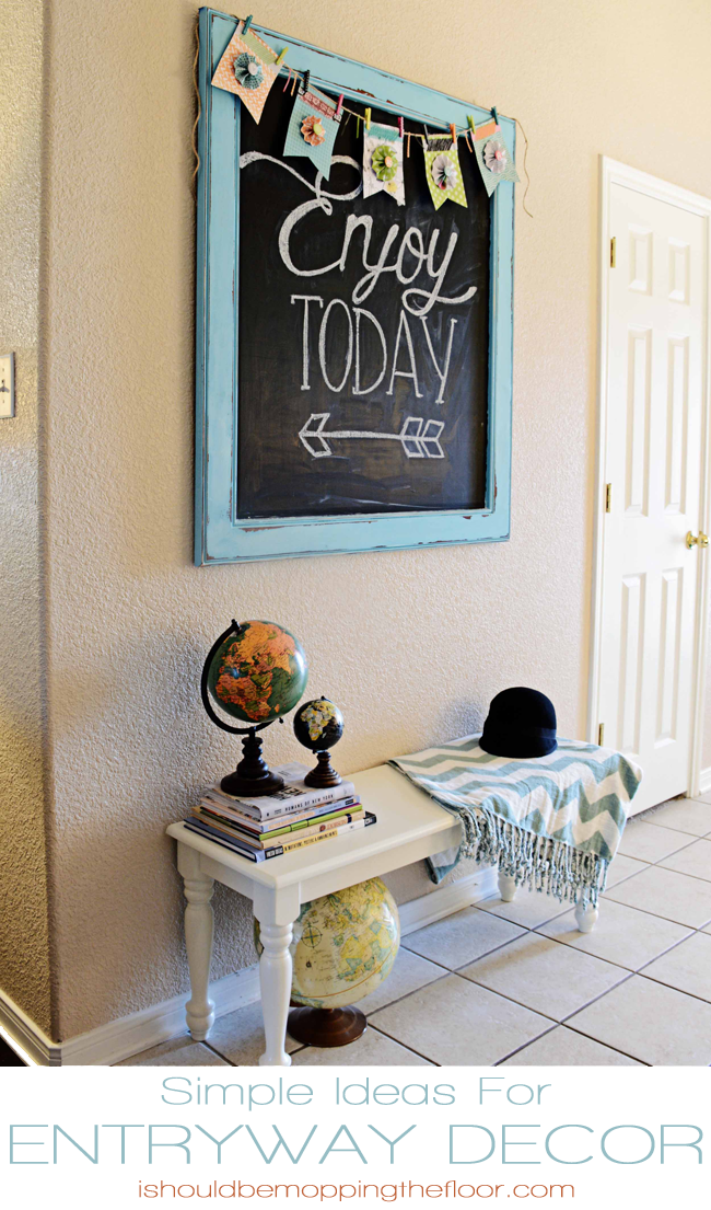 Simple Ideas for Entryway Decor