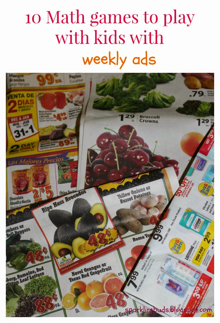 Learning games to play with kids with weekly ads - sparklingbuds