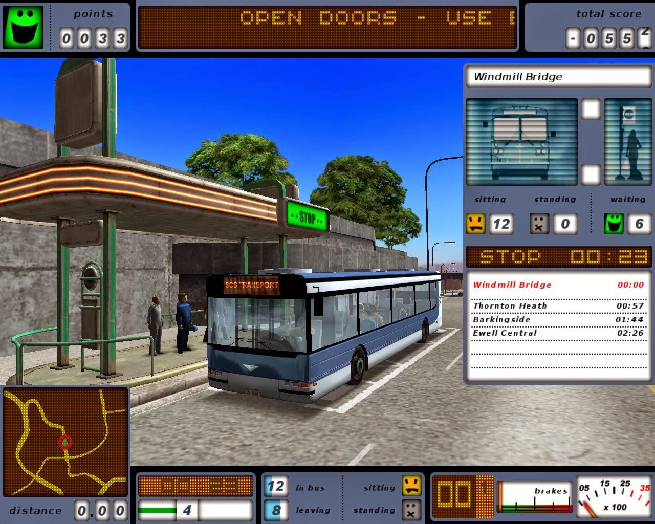 Bus Driver Game Free Download Full Version