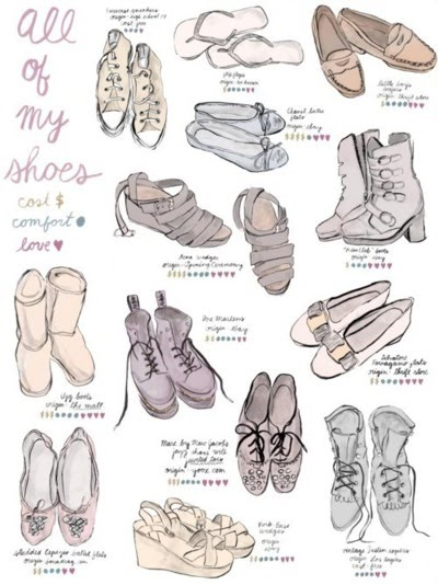 School Shoes How To Draw School Shoes