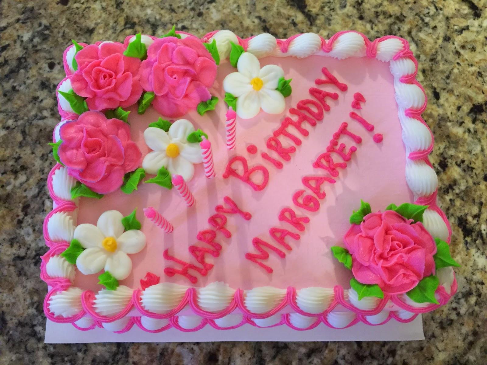 Happy Birthday Maragret Cake