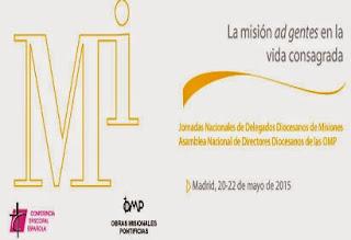 Asamblea 2015 de los responsables de la Pastoral Misionera y de la Animación Misionera en España