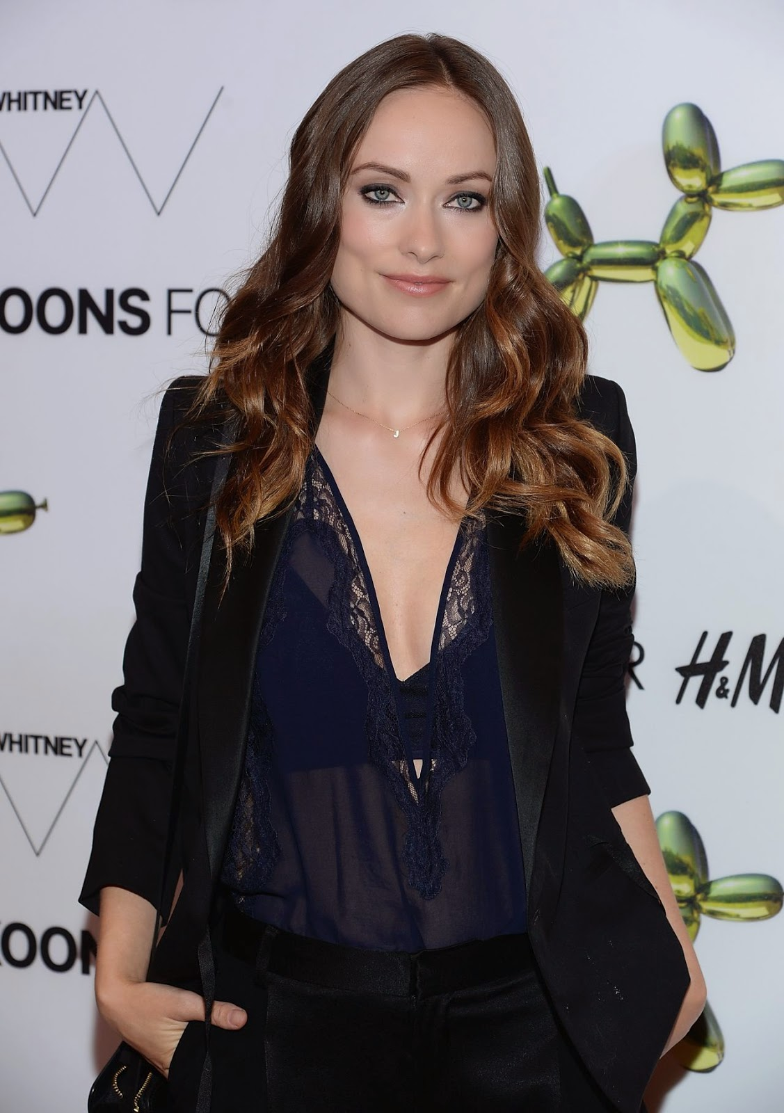 Olivia Wilde attends the H&M Fifth Avenue Flagship Store Launch in NYC