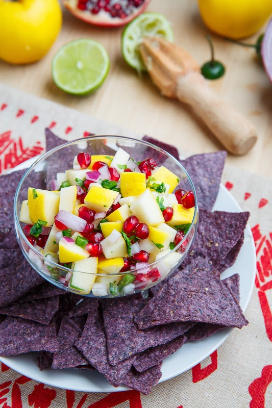 Apple and Pomegranate Salsa | World Recipes Collection