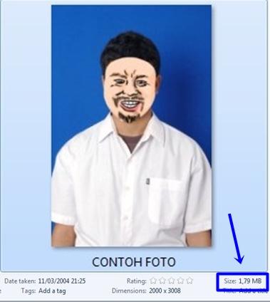 Cara Mengurangi Ukuran Foto