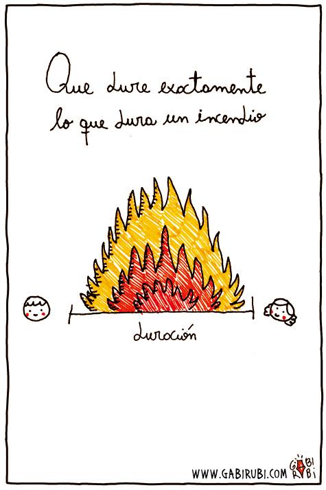 Gabi Rub  dibujos magicos  TODOS LOS FUEGOS EL FUEGO
