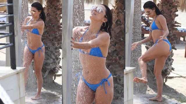 Eva Longoria de férias em Marbella