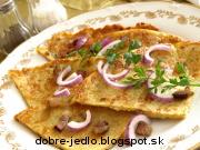 Zemiakové placky so slaninou - recept