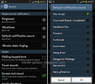 Inside Galaxy: Samsung Galaxy S4: How to Change Message Tone with
