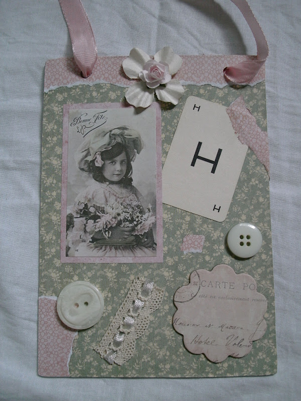 Shabby Pink And Pretty Crafting Shabby Style