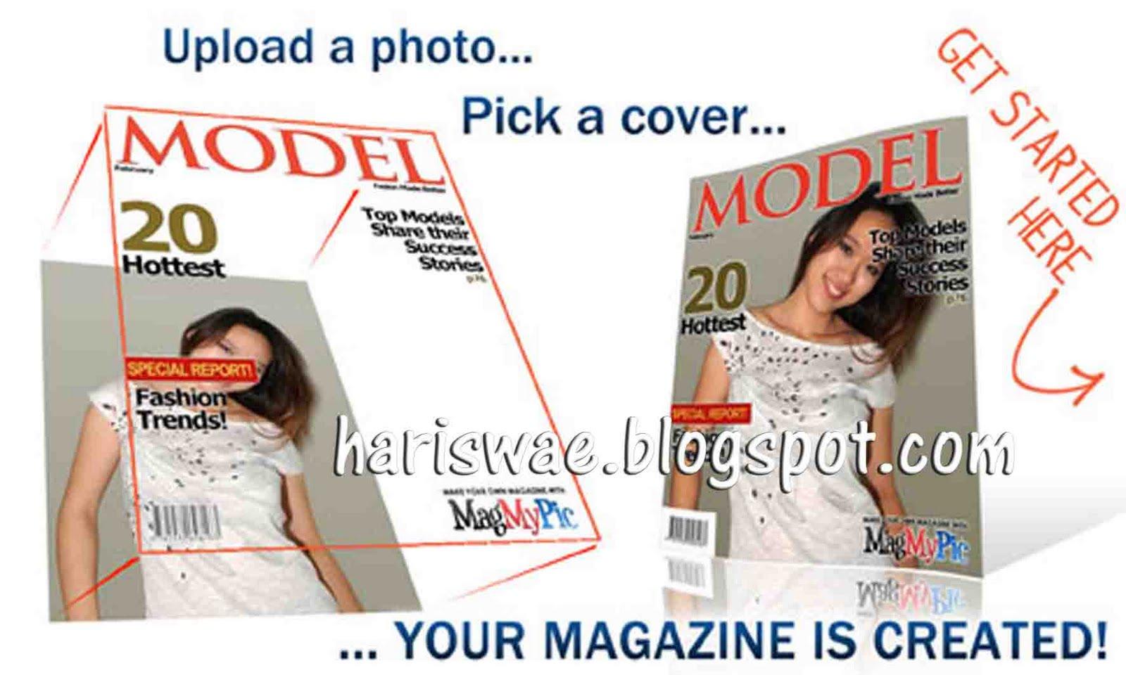 Cara ubah foto jadi sampul majalah kali ini tidak jauh berbeda dengan