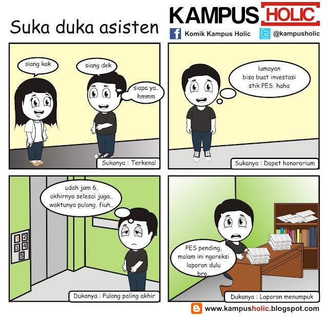 #091 Suka duka asisten mahasiswa kampus holic