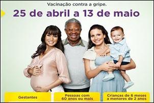 Crítica ao Povo Brasileiro. Pedem saúde e não se vacinam contra a gripe.