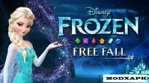 Frozen Free Fall 2.0.0 Mod Apk (Unlimited Hearts/Items)