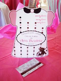 centro de mesa ursinha rosa