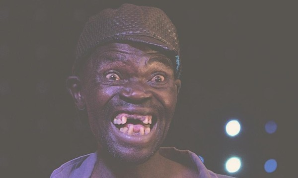 Zimbabwe's ugliest man at a pub pageant
