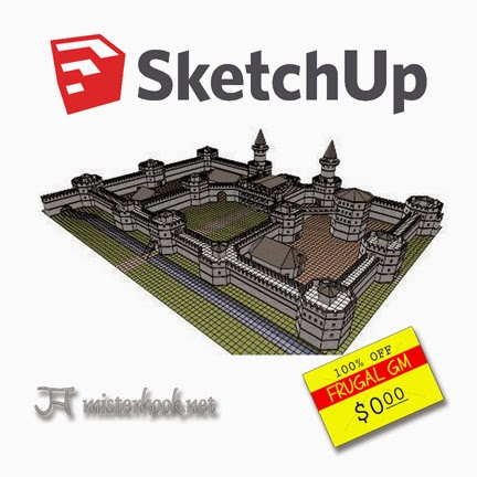 Free GM Resource: Sketchup & Mr. Hook's GENERICA Project