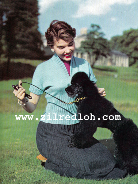 1950's stitchcraft knitting pattern free
