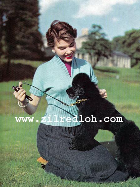 1950's stitchcraft knitting pattern free